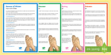 The Four Seasons Prayers of the Faithful Print-Out