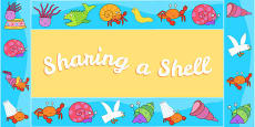 Display Borders to Support Teaching on Sharing a Shell