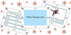 Winter Olympics PowerPoint Quiz