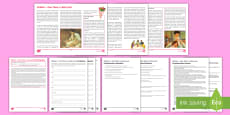* NEW * Mothers – Give Them a Little Love!  Differentiated Reading Comprehension Activity