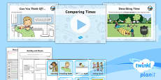 * NEW * PlanIt Y1 Measurement Lesson Pack Understanding Time (1)