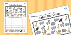 Safari Bar Graph Activity Activity Sheet