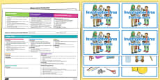 Interest Area Editable Continuous Provision Plan and Challenge Cards Pack Nursery FS1