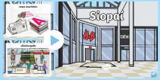 * NEW * Shops PowerPoint Gaeilge