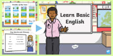 Basic English PowerPoint