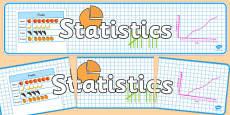 Statistics Display Banner NZ