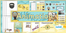 PlanIt - Computing Year 4 - Animation Unit Additional Resources