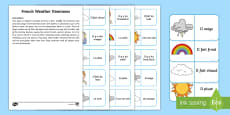 Weather Dominoes French