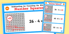 Year 2 Adding 2 Digit Numbers and Tens Using Counting Shapes Display Poster