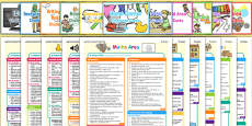 EYFS Continuous Provision and Challenge Cards Planning Pack