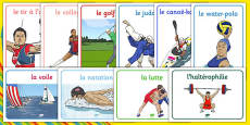 Rio 2016 Olympics Sport Posters French