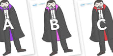 A-Z Alphabet on Vampires