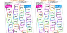 Plurals Board Game