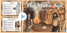 Stone Age Food Lesson PowerPoint