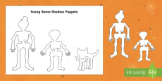 Funny Bones Shadow Puppets