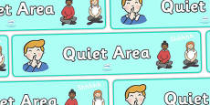 Quiet Area Display Banner