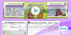 PlanIt Y4 Myths and Legends: Romulus and Remus Lesson Pack Story Writing (6)