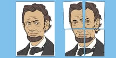 Abraham Lincoln Display Cut Out
