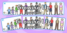 Growing Up Display Banner Polish Translation