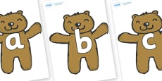 Phoneme Set on Teddy Bears