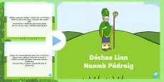 Dóchas Linn Naomh Pádraig Song PowerPoint
