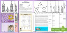 Yom Kippur Activity Pack