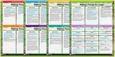 EYFS Lesson Plan and Enhancement Ideas to Support Teaching on Walking Through the Jungle