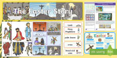 * NEW * The Easter Story Discover and Learn Display Pack