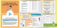 Y4 Information Texts: Explanation Example Text