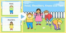 Head Shoulders Knees and Toes PowerPoint