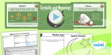 PlanIt - RE Year 3 - Islam Lesson 6: Symbols and Meanings Lesson Pack