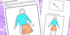 Workstation Pack Clothes Matching Activities Set 2
