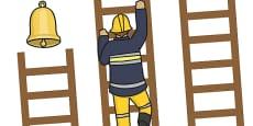 Fireman Reward Chart Ladder