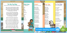 Toys Songs and Rhymes Resource Pack