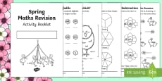* NEW * SATs Survival KS1 Spring Revision Maths  Booklet