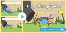 Incy Wincy Spider PowerPoint