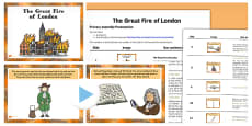 The Great Fire of London PowerPoint Assembly Pack