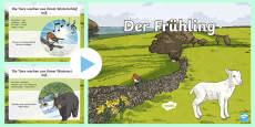 * NEW * Spring Information PowerPoint German