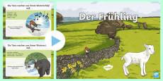 * NEW * Spring Information PowerPoint German
