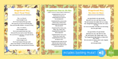 The Gingerbread Man Songs and Rhymes Resource Pack
