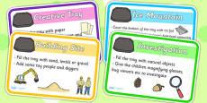 Builders Tray Idea Cards