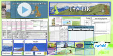 PlanIt - Geography Year 3 - The UK Unit Pack