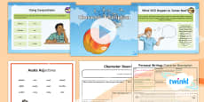 * NEW * PlanIt Y4 Explorers: James and the Giant Peach Lesson Pack Personal Writing 2