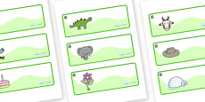 Willow Themed Editable Drawer-Peg-Name Labels