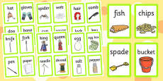 EYFS Matching Pairs Card Game