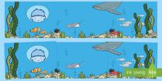 Sea Bucket Small World Background