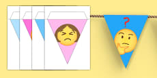 Emojis Display Bunting