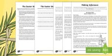 KS2 Easter Story Inference Activity Sheets