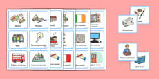 Visual Timetable for Reception FS2 Polish
