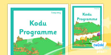 PlanIt - Computing Year 6 - Kodu Programming Unit Book Cover
